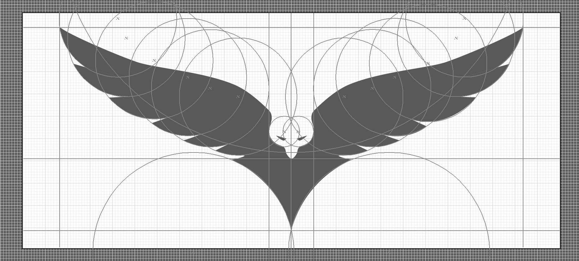 Dzn Hawk Logo Creation Process