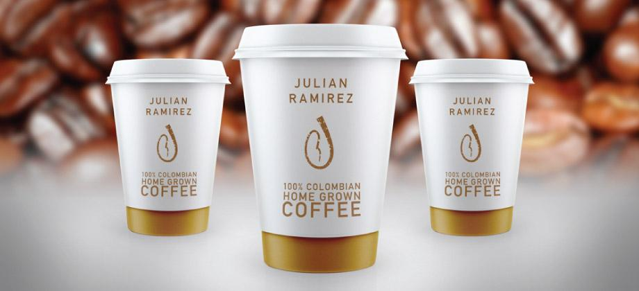 Coffee Cup Cafe Design Tenerife Julian Ramirez Mock Up